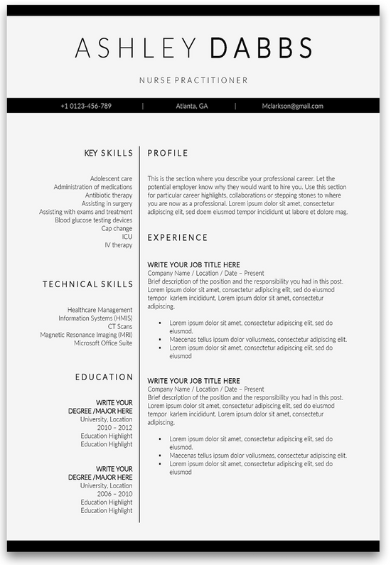 Top Effective Nurse Resume Templates And Samples For 2021