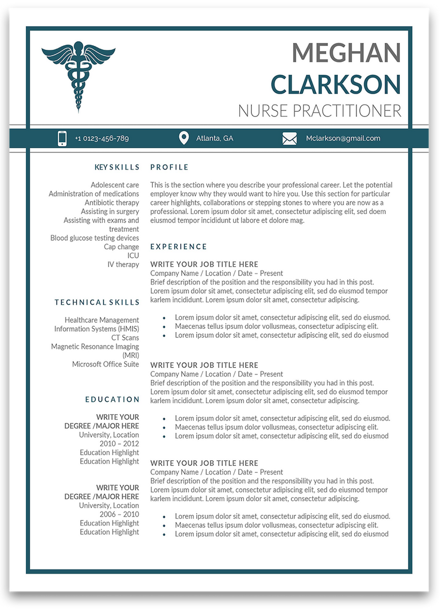 Boston: Resume Template
