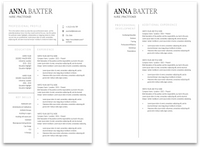 Salem: Resume Template