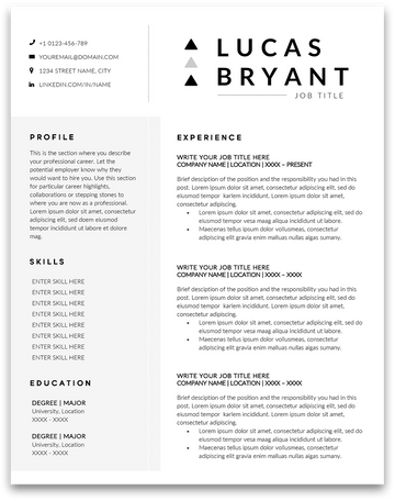 Savannah: Resume Template