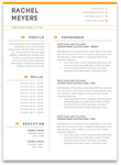 Carnegie: Resume Template