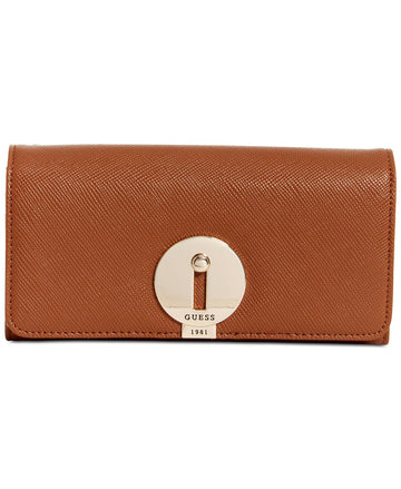 Augustina Boxed Large Flap Organizer Wallet