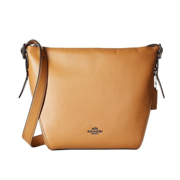 Large Crossbody Dufflette Light Saddle Nickel