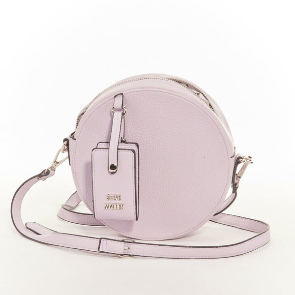 Teenie Mini Crossbody LavenderSilver