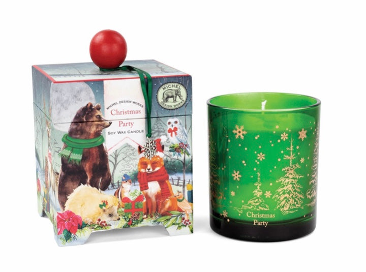 Michel Design Works Christmas Party Soy Wax Candle in Gift Box