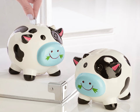 Happy Cow Moo-ney Bank