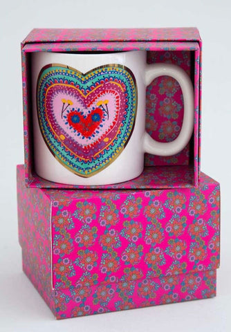 """Cup of Love""Boxed Mug"