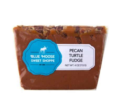 Gourmet Pecan Turtle Fudge