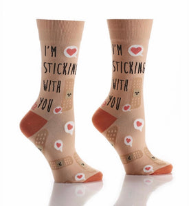 I'm Sticking With You Women's Crew Socks