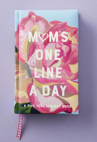 Mom's One Line A Day 5 Year Memory Book Journal