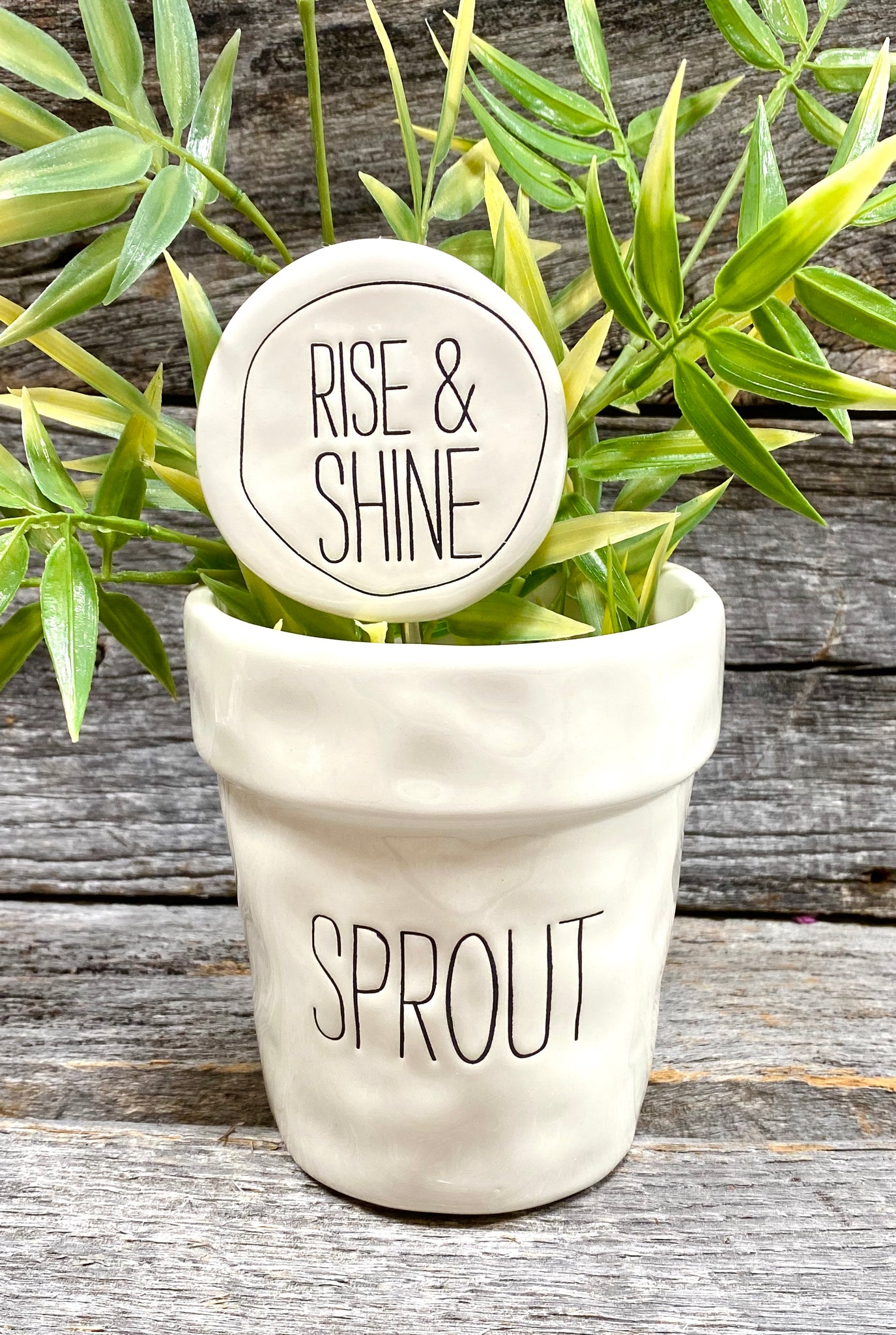 """SPROUT"" Ceramic herb pot"