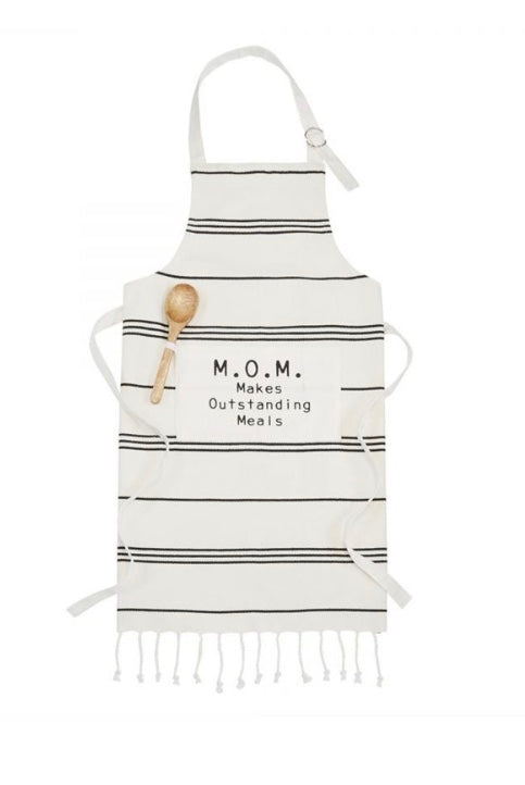 M.O.M. Makes Outstanding Meals Apron
