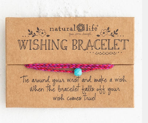 Natural LIfe Wishing Bracelet