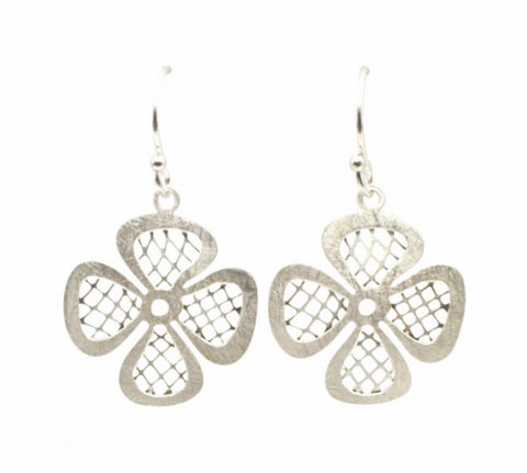 Four Leaf Clover Shamrock Earrings