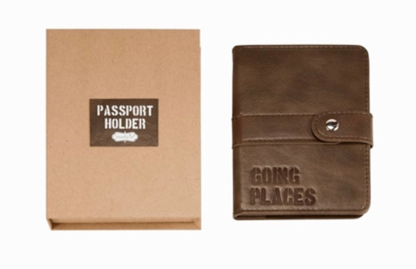 Vegan Leather Passport Holder