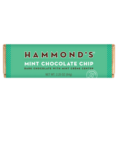 Hammond's Mint Chocolate Chip Dark Chocolate with Mint Creme Center