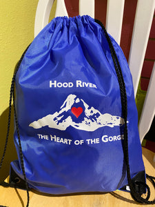 Hood River The Heart of the Gorge Cinch Backpack