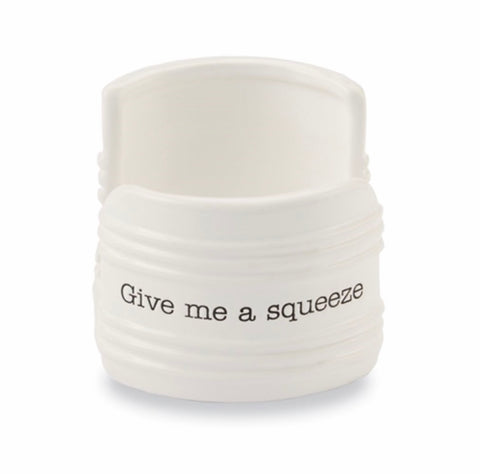 Give Me a Squeeze Ceramic Sponge Holder