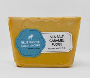 Gourmet Sea Salt Caramel Fudge