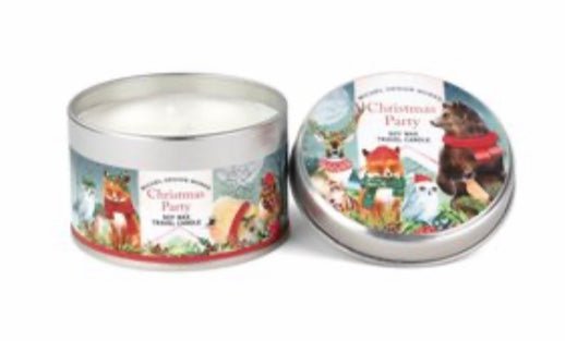 Michel Design Works Christmas Party Soy Wax Travel Candle 40% OFF SALE