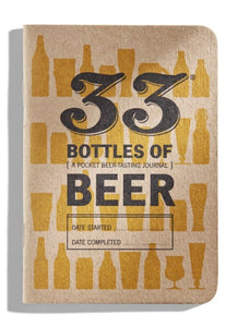 33  Bottles of Beer Tasting Journals