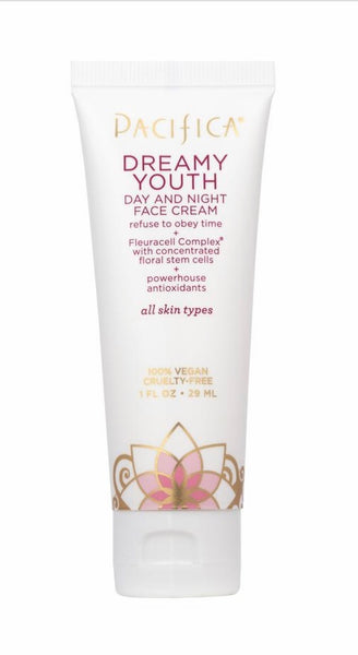 Pacifica Dreamy Youth Day and Night Face Cream Travel Size 1 oz