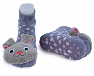 Bunny Boogie Toes Rattle Socks size 1-2 years
