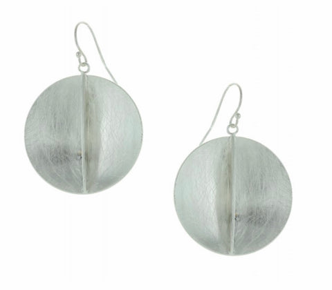 Concave Disk Earrings