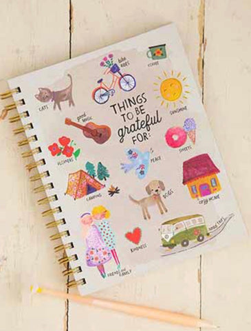 Things To Be Grateful For Journal Natural Life
