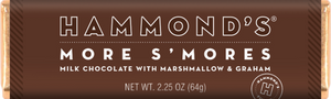 Hammond's More S'Mores Milk Chocolate with Marshmallow and Graham