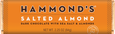 Hammond's Salted Almond Dark Chocolate with Sea Salt and Almonds