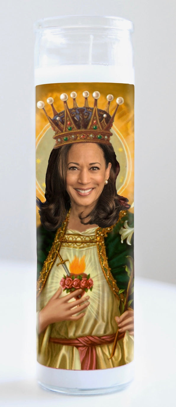 Kamala Harris Prayer Candle