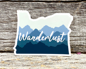 Oregon Wanderlust Sticker
