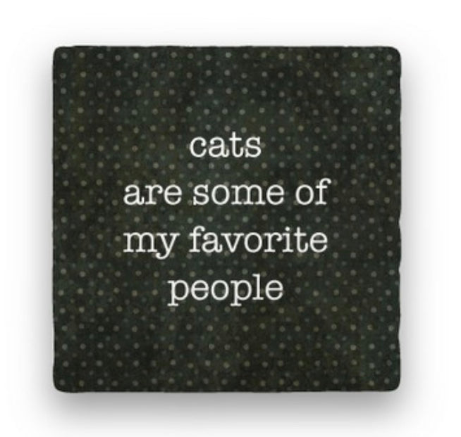 Cats Are Some of My Favorite People Greeting Card