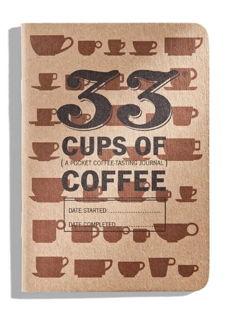 33 Cups of Coffee Tasting Journal