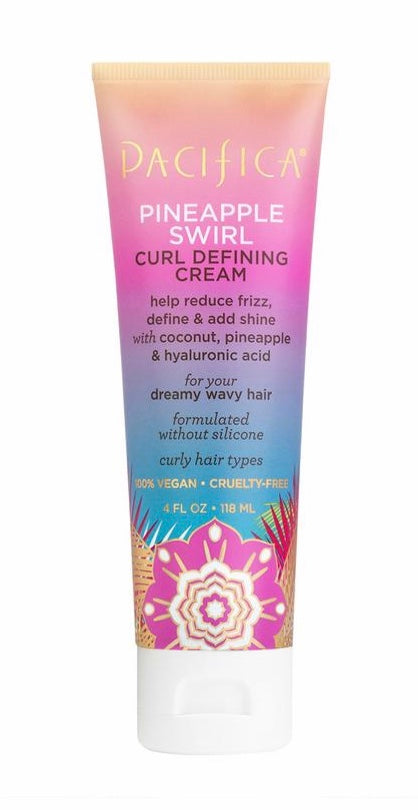 Pacifica Pineapple Swirl Curl Defining Cream