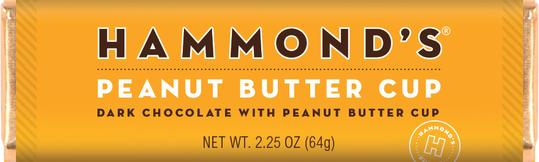 Hammond's Peanut Butter Cup Dark Chocolate with Peanut Butter Cup