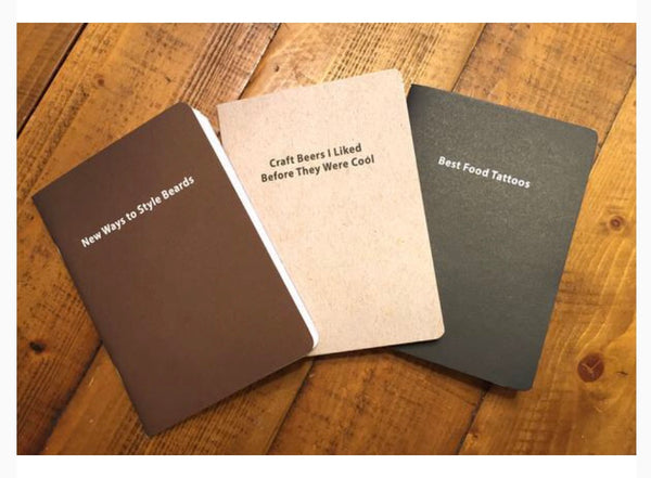 Hipster Journal 3-Pack