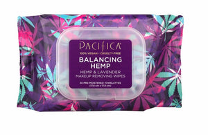 Pacifica Balancing Hemp & Lavender Make-up Removing Wipes
