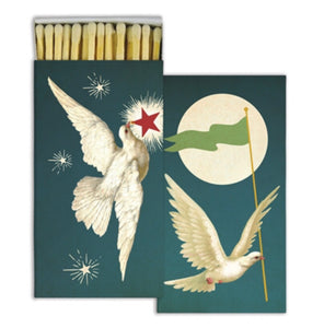 Peace Dove Long Matchbox