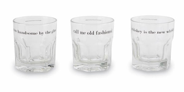 Whiskey Glass Set with Whiskey Stones