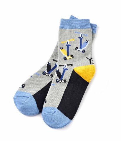 Scooter Boys Crew Socks age 3-6 SALE
