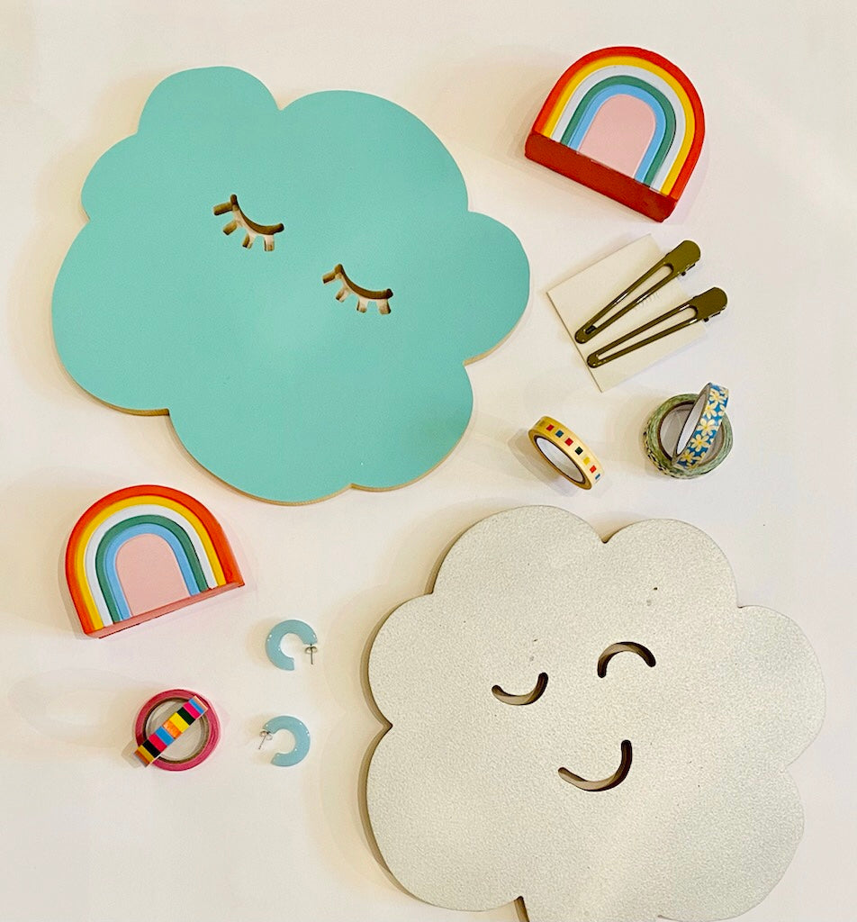 Sleepy Cloud Wall Decor