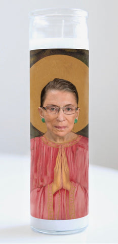 Ruth Bader Ginsberg Prayer Candle
