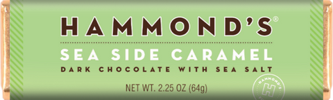 Hammond's Sea Side Caramel Dark Chocolate with Sea Salt. TEMPORARILY SOLD OUT
