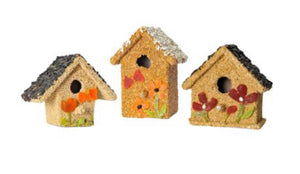 "Spring Birdseed ""Fruit Cottages"" House"