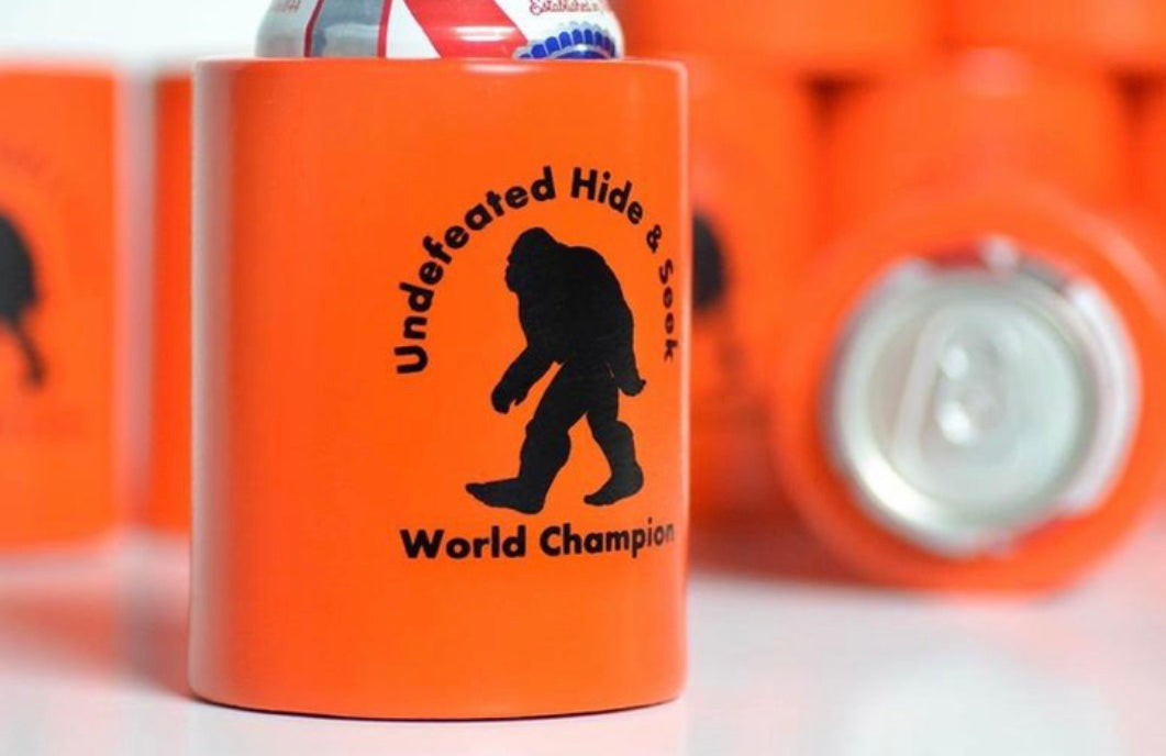 Bigfoot Hide-n-Seek World Champion Koozie SOLD OUT