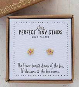 The Perfect Tiny Studs Flower Natural Life