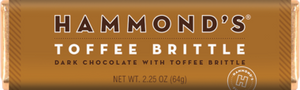 Hammond's Toffee Brittle Dark Chocolate with Toffee Brittle