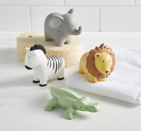 Safari Animal Bath Squirt Toy